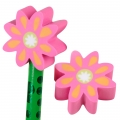 Flower Eraser Pencil Topper (1)